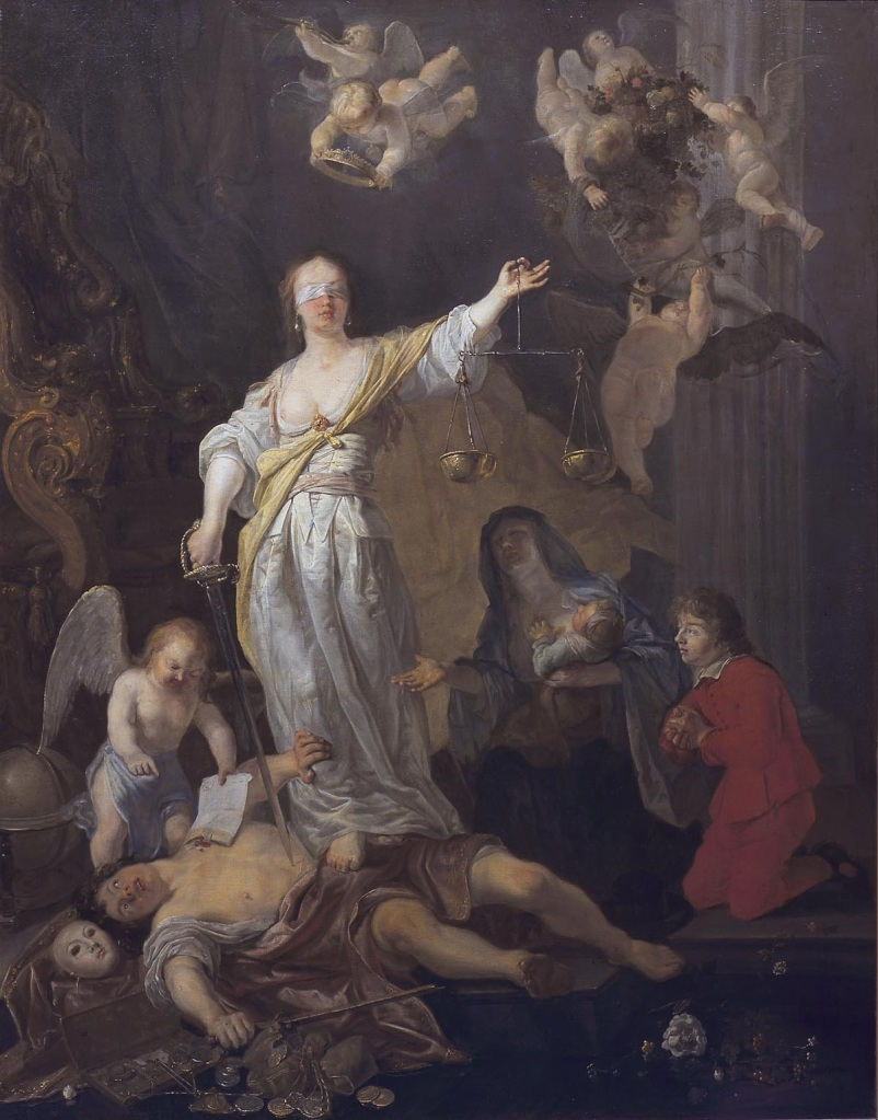 The Triumph of Justice - Gabriël Metsu (1629-1667)