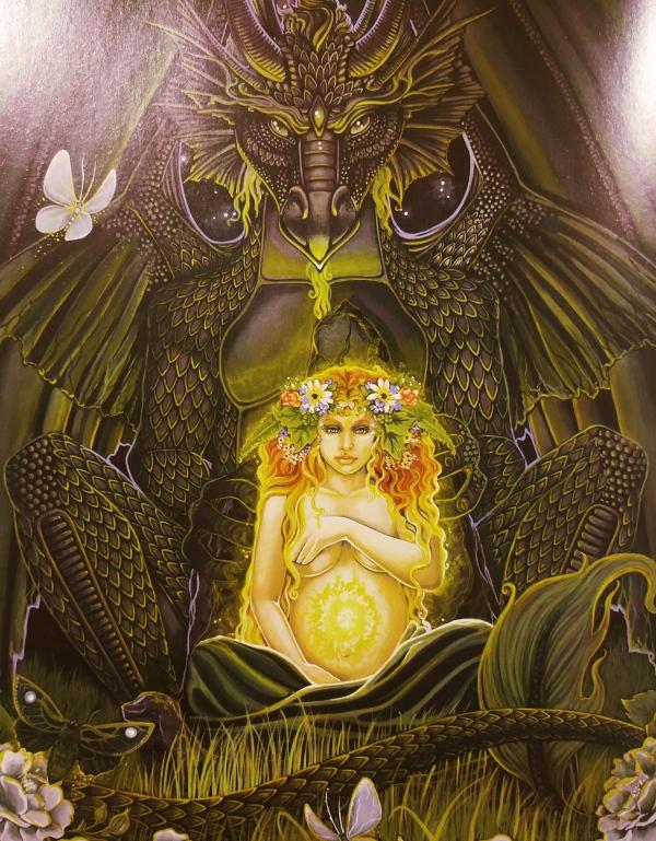 Gaia's Dragon - Michele-Lee Phelan